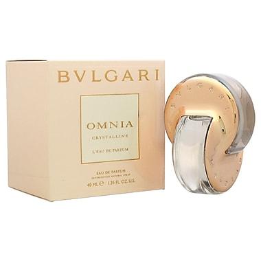 Bvlgari Omnia Crystalline L'eau De Parfum EDP Spray, Women, 1.35 oz