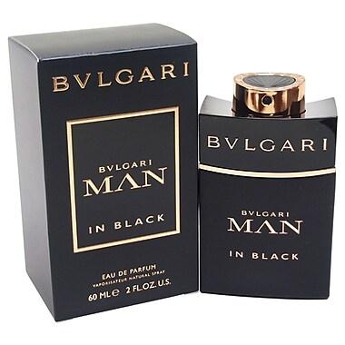 Bulgari – Eau de parfum Man In Black en vaporisateur, pour hommes, 2 oz