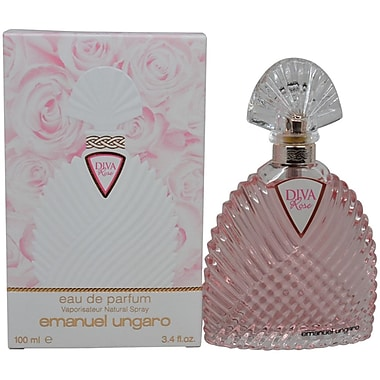 Emanuel Ungaro Diva Rose EDP Spray, Women, 3.4 oz