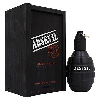 Gilles Cantuel Arsenal Black EDP Spray, Men, 3.4 oz
