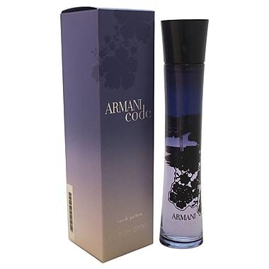 Giorgio Armani Armani Code EDP Spray, Women, 2.5 oz