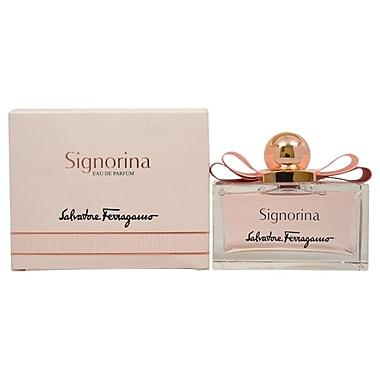 Salvatore Ferragamo – Eau de parfum en vaporisateur Signorina, pour femmes, 3,4 oz