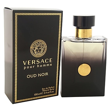 Versace Oud Noir EDP Spray, Men, 3.4 oz