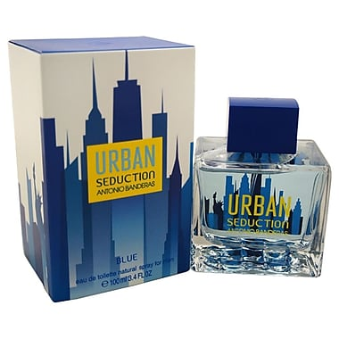 Antonio Banderas Urban Seduction Blue EDT Spray, Men, 3.4 oz
