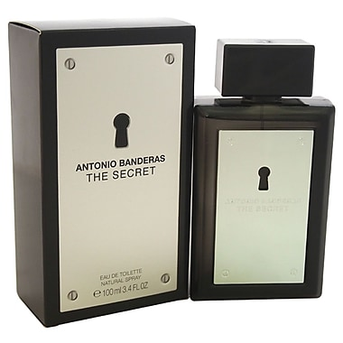 Antonio Banderas The Secret EDT Spray, Men, 3.4 oz