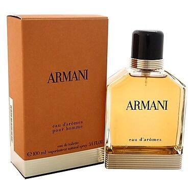 Armani – Eau de toilette Eau D'Arome en vaporisateur, pour hommes, 3,4 oz