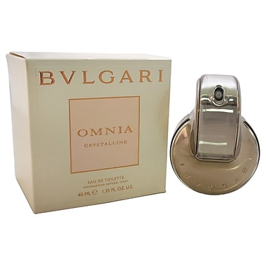 Bvlgari Omnia Crystalline EDT Spray, Women, 1.33 oz
