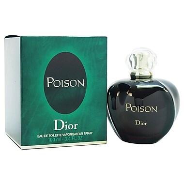 Christian Dior Poison EDT Spray, Women, 3.4 oz