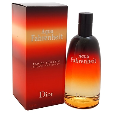 Christian Dior Aqua Fahrenheit EDT Spray, Men, 4.2 oz