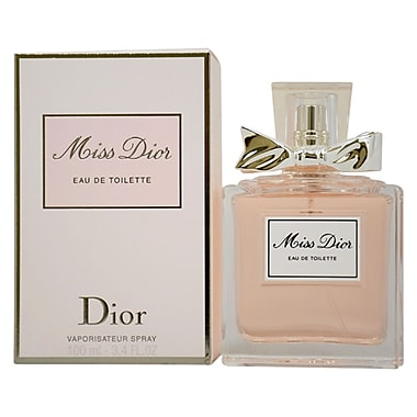 Christian Dior Miss Dior EDT Spray, Women, 3.4 oz