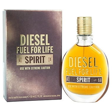 Diesel Fuel for Life Spirit EDT Spray, Men, 1.7 oz