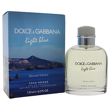 Dolce & Gabbana Light Blue Discover Vulcano EDT Spray, Men, 4.2 oz