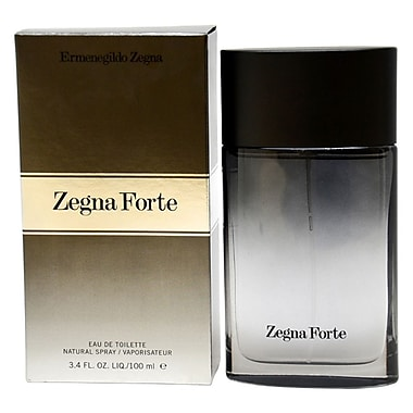 Ermenegildo Zegna Zegna Forte EDT Spray, Men, 3.4 oz