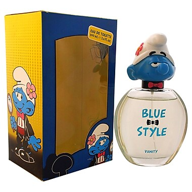 First American Brands The Smurfs Blue Style Vanity EDT Spray, Girls, 3.4 oz