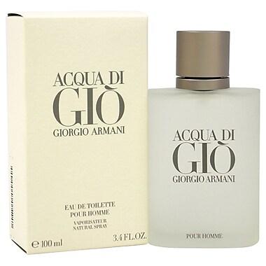 Giorgio Armani Acqua Di Gio EDT Spray, Men, 3.4 oz