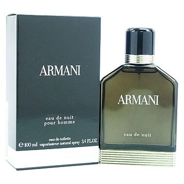 Giorgio Armani Armani Eau De Nuit EDT Spray, Men, 3.4 oz