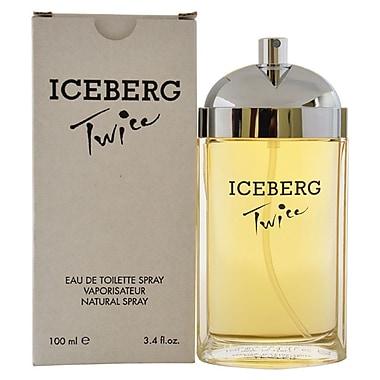 Iceberg– Eau de toilette en vaporisateur Iceberg Twice, pour femmes, 3,4 oz