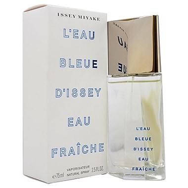 Issey Miyake L'eau Bleue D'issey Eau Fraiche EDT Spray, Men, 2.5 oz