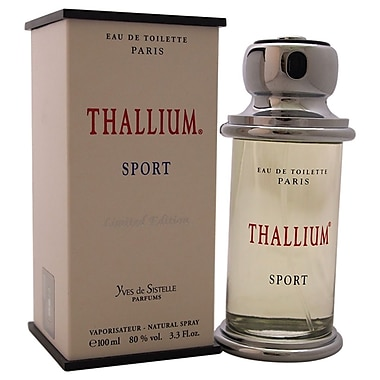 Jacques Evard Thallium Sport EDT Spray, Men, 3.3 oz