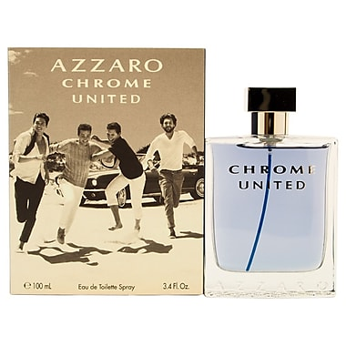 Loris Azzaro Chrome United EDT Spray, Men, 3.4 oz
