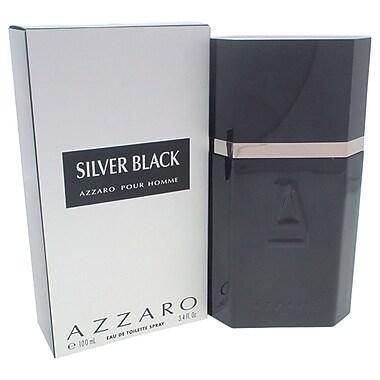 Loris Azzaro Silver Black EDT Spray, Men, 3.4 oz