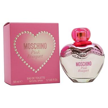 Moschino Pink Bouquet EDT Spray, Women, 1.7 oz