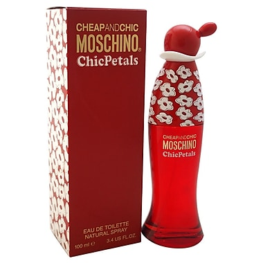 Moschino Cheap And Chic Chic Petals EDT Spray, Women, 3.4 oz