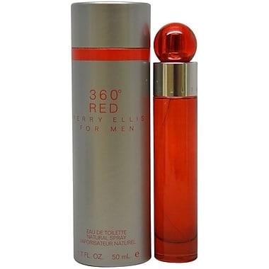Perry Ellis 360 Red EDT Spray, Men, 1.7 oz