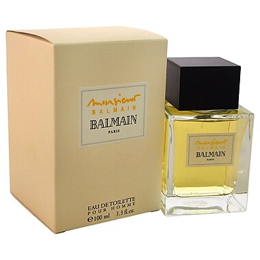 Pierre Balmain Monsieur Balmain EDT Spray, Men, 3.4 oz