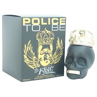 Police To Be The King EDT Spray, Men, 4.2 oz