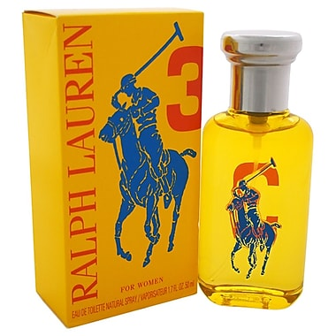 Ralph Lauren The Big Pony Collection # 3 EDT Spray, Women, 1.7 oz