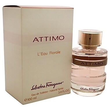 Salvatore Ferragamo Attimo L'Eau Florale EDT Spray, Women, 3.4 oz