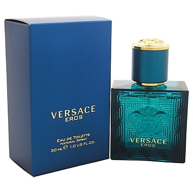 Versace Eros EDT Spray, Men, 1 oz