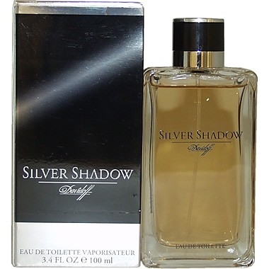 Zino Davidoff Silver Shadow EDT Spray, Men, 3.4 oz
