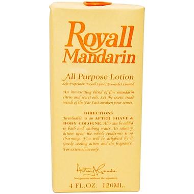 Royall Fragrances Royall Mandarin Lotion Spray, Men, 4 oz