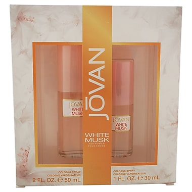 Jovan White Musk Set, Women, 2/Piece
