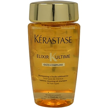 Kerastase Elixir K Ultime Sublime Cleansing Oil Shampoo, 8.5 oz