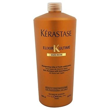 Kerastase Elixir K Ultime Bain Riche Rich Shampoo With Beautifying Oil, 34 oz