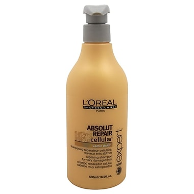 L'Oreal Professional Serie Expert Absolut Repair Cellular Shampoo, 16.9 oz