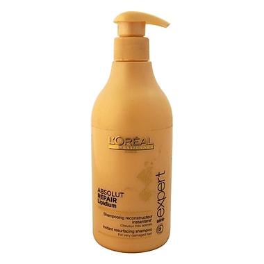 L'Oreal Professional Serie Expert Absolut Repair Lipidium Shampoo, 16.9 oz