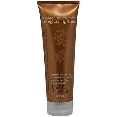 Brazilian Blowout Acai Protective Thermal Straightening Balm, 8 oz
