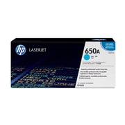 HP 650A (CE271A) Cyan Original LaserJet Toner Cartridge