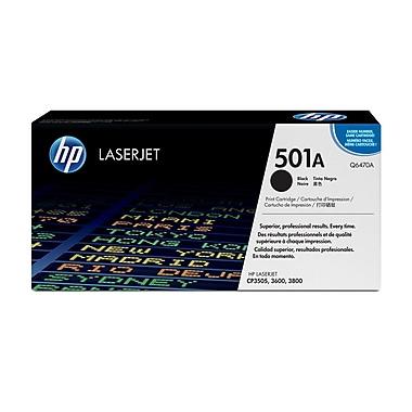 HP 501A (Q6470A) Cartouche de toner HP LaserJet noir d'origine