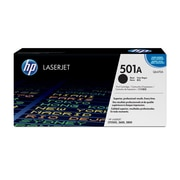 HP 501A (Q6470A) Black Original LaserJet Toner Cartridge