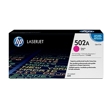 HP 502A (Q6473A) Magenta Original LaserJet Toner Cartridge