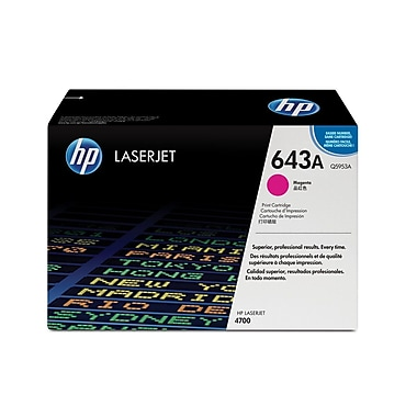 HP 643A (Q5953A) Cartouche de toner HP LaserJet magenta d'origine