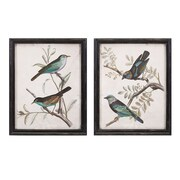 Woodland Imports 2 Piece Maisly Bird Wall Decor Set