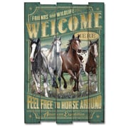 AmericanExpedition Mustang Cabin Sign Wall D cor