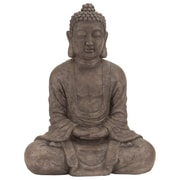 Woodland Imports Polystone Table Top Buddha Statue