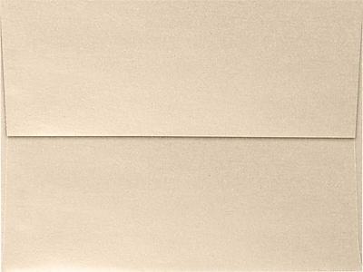 LUX A7 Invitation Envelopes (5 1/4 x 7 1/4) 500/Box, Taupe Metallic (5380-M09-500)